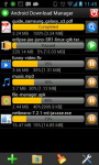 Android Download Manager screenshot 1/3