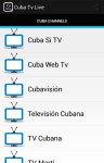 Cuba Tv Live screenshot 1/2