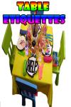 Table Etiquettes V1 screenshot 1/3
