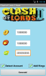 Clash of Lords 2 Cheats Unofficial screenshot 1/2