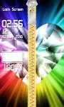 Zipper Lock Screen Diamond screenshot 4/6