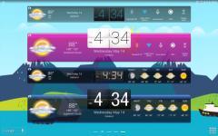 HD Widgets overall screenshot 2/6