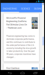 Engineer News screenshot 5/6