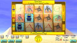 Slot Tales Scarabaeus Scatter screenshot 2/3