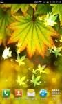 Autumn Bokeh Leaves Live Wallpaper screenshot 1/6