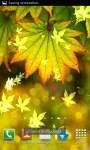 Autumn Bokeh Leaves Live Wallpaper screenshot 4/6