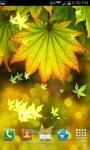 Autumn Bokeh Leaves Live Wallpaper screenshot 5/6