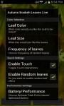 Autumn Bokeh Leaves Live Wallpaper screenshot 6/6