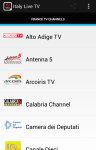 Free Italy Tv Live screenshot 1/4