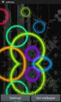 Glowing Rings on Water LWP screenshot 1/3