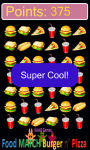 food match burger and pizza game free screenshot 3/5