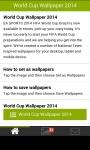 World Cup Wallpaper 2014 screenshot 2/6