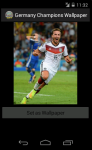 Germany Champions 2014 World Cup Wallpaper screenshot 4/6