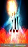 Allah Is Islam Fire Effects screenshot 2/3