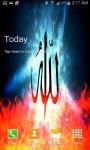 Allah Is Islam Fire Effects screenshot 3/3