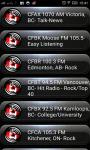 Radio FM Canada screenshot 1/2