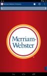 Dictionary - M-W Premium regular screenshot 3/6