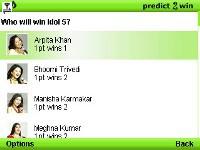 Indian Idol Predict 2 Win screenshot 1/1