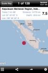 QuakeFeed - World Earthquake Info Displayed on ESRI Maps screenshot 1/1