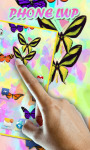 Butterflies on your Phone LWP free screenshot 2/2