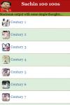 Sachin 100 100s screenshot 2/3