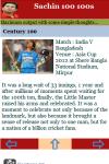 Sachin 100 100s screenshot 3/3