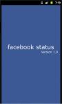 Best Facebook Status screenshot 1/4