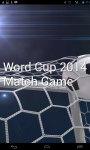 World Cup 2014 Match Game screenshot 1/6