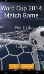 World Cup 2014 Match Game screenshot 2/6