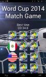 World Cup 2014 Match Game screenshot 3/6