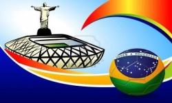 2014 world cup ball wallpaper for desktop screenshot 2/6