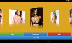 Adriana Lima Jigsaw Puzzle game screenshot 1/4