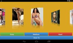 Adriana Lima Jigsaw Puzzle game screenshot 2/4