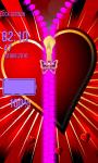Love Zipper Lock Screen Best screenshot 5/6