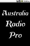 Australia Radio  Pro screenshot 1/3