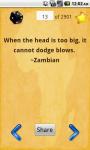 2901 Greatest African Proverbs screenshot 2/5