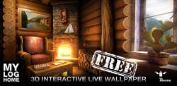 My Log Home iLWP FREE screenshot 1/3