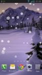Snow Fall Live Wallpaper New screenshot 1/3
