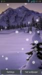 Snow Fall Live Wallpaper New screenshot 2/3