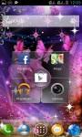 PURPLE ROSE BUTTERFLY LWP screenshot 3/3