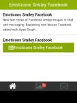 Emoticons Smiley Facebook screenshot 2/6