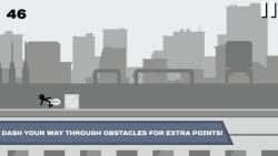 Stickman Rooftop Runner screenshot 2/4