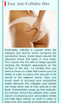 Anti Cellulite Diet screenshot 1/1