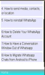 Answers On WhatsApp Installation FAQs screenshot 1/1