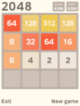 2048 Javame screenshot 1/3