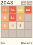 2048 Javame screenshot 2/3