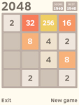 2048 Javame screenshot 3/3