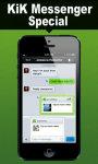 Kik Messenger Special screenshot 1/4