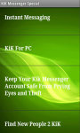 Kik Messenger Special screenshot 3/4