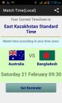 ICC World Cup 2015 Match Schedule screenshot 3/6